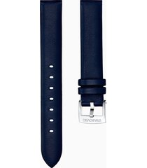 cinturino per orologio 14mm, blu, acciaio inossidabile