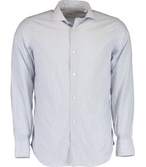 cotton double striped shirt