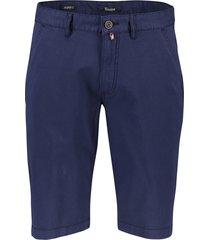 gardeur shorts jasper-3 donkerblauw modern fit