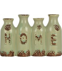 mini vaso love garrafinha sortido - multicolorido - dafiti