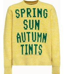 oamc maglia in lana ernest gialla