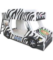 beliche cama carro do brasil adventure