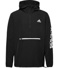 m at pbl 1/4 wb outerwear sport jackets anoraks zwart adidas performance