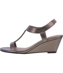 sandalias de cuña swaggy para mujer comfort plus by predictions payless