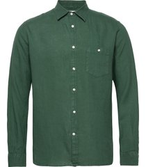 larch ls shirt overhemd business groen knowledge cotton apparel
