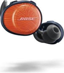 audífonos in ear bose soundsport free bluetooth naranja