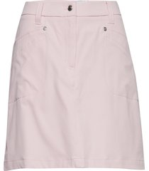 lyric skort 45 cm kort kjol rosa daily sports