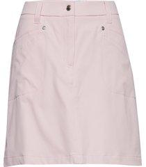 lyric skort 45 cm kort kjol rosa daily sports