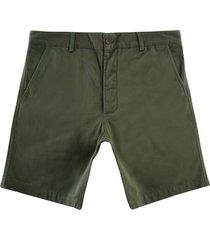universal works deck shorts | light olive | 00135-ltolv