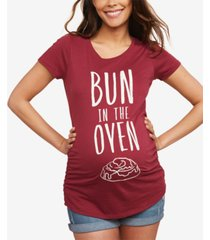 motherhood maternity bun in the oven maternity tee