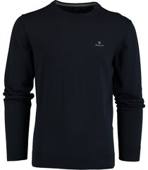 gant pullover donkerblauw rf 8030541/433