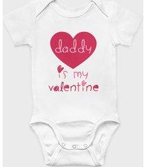 body dziecięce daddy is my valentine