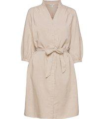 dresses light woven dresses everyday dresses beige edc by esprit