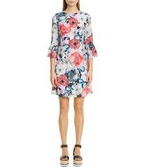 women's erdem floral silk shift dress
