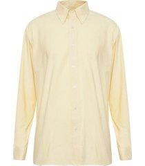 camisa oxford amarillo varón rossignol