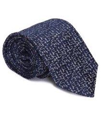 gravata slim - azul
