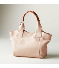 anita leather handbag