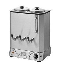 cafeteira elétrica profissional 6l marchesoni cf.4.622 inox 220v
