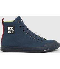 zapatilla s astico mid cut sneakers azul diesel