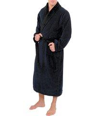 carl ross badjas zwart-nachtblauw