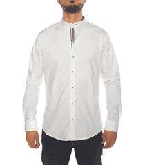 camisa frank pierce sunday - blanco
