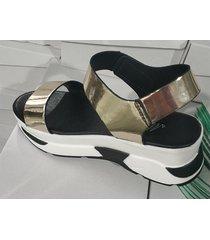 sandalias de plataforma de tacón alto de verano mujeres punta