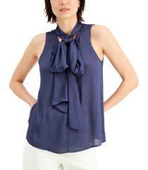 inc textured oversized-bow top, created for macy's
