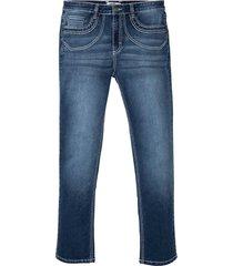 jeans elasticizzati comfort regular fit straight (blu) - john baner jeanswear
