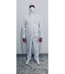 traje de protección overol antifluidos - bioseguridad