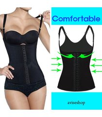 underbust waist cincher vest trainer girdle control chaleco body shaper belt #9