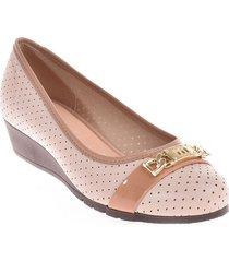 priceshoes baletas confort mujer 022m5156-766-18566crema