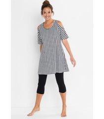 pyjama met capri legging (2-dlg. set)