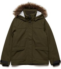 beryl gs yt parka outerwear jackets & coats winter& warmlined jackets groen didriksons