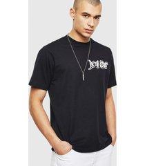 polera t just t31 t shirt 900 negro diesel