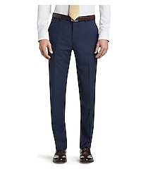 travel tech collection mini box weave slim fit men's suit separate pants clearance by jos. a. bank