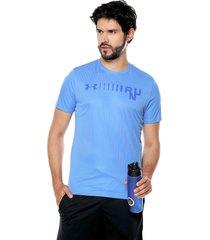 camiseta azul under armour water