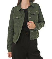 jaqueta sarja colcci bolsos verde