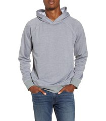 men's hurley dri-fit salton performance pullover hoodie, size large - grey