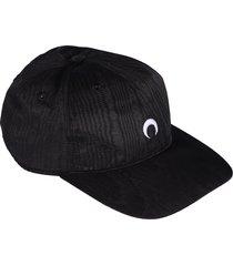 marine serre moire branded cap