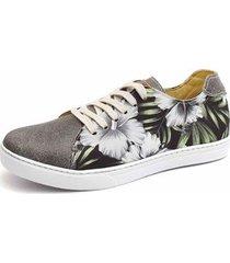 sapatênis shoes grand floral masculino - masculino