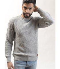 sweater gris redskin zig zag