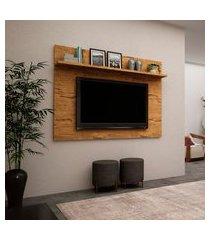 painel para tv até 46 pol patrimar móveis topázio 1 prateleira