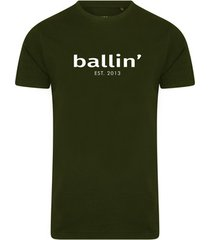 t-shirt korte mouw ballin est. 2013 basic shirt
