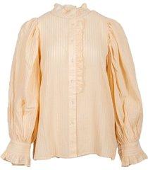 antik batik yvette blouse creme