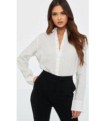 gina tricot kimberly linen shirt skjortor