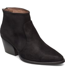 h-4021 shoes boots ankle boots ankle boot - heel svart wonders