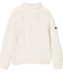 balmain white sweater