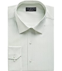 alfani men's classic-fit rectangle print dress shirt, created for macy's