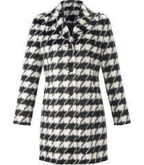 korte jas met reverskraag van anna aura zwart