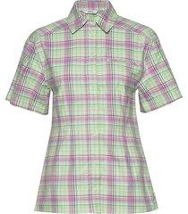enretna ss shirt 6719 kortärmad skjorta grön envii
